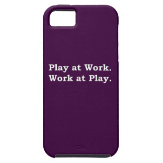 More Zen Anything Sayings - Play at Work iPhone 5 Cases