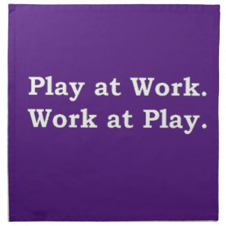 More Zen Anything Sayings - Play at Work Napkin