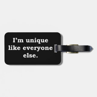 More Zen Anything Sayings - Unique Luggage Tag