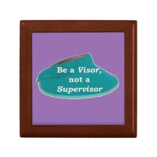 More Zen Anything Sayings -Visor not a Supervisor Gift Box