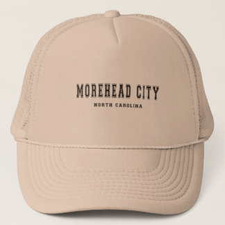Morehead City North Carolina Trucker Hat