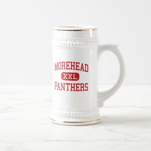 Morehead - Panthers - High - Eden North Carolina Mugs