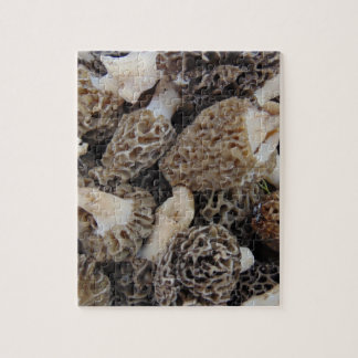 Morel Mushrooms Jigsaw Puzzle