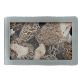 Morel Mushrooms Rectangular Belt Buckle