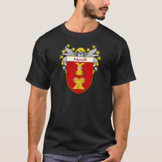 Morelli Coat of Arms (Mantled) T-Shirt