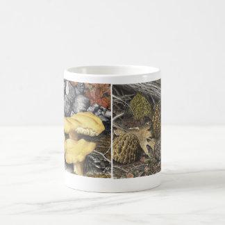 Morels and Chantrelle mushrooms Coffee Mug