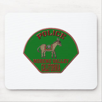 Moreno Valley Police Mouse Pad