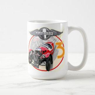 Morgan 3 wheeler painting coffee mug