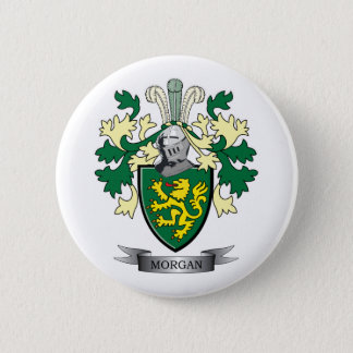 Morgan Family Crest Coat of Arms 2 Inch Round Button