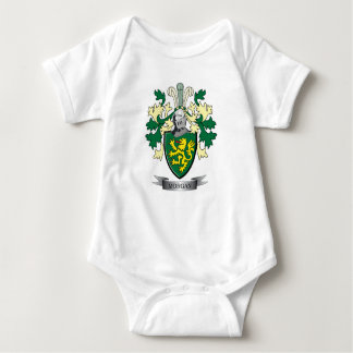 Morgan Family Crest Coat of Arms Baby Bodysuit