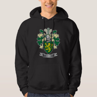 Morgan Family Crest Coat of Arms Hoodie