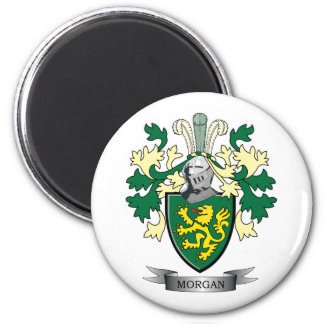 Morgan Family Crest Coat of Arms Magnet