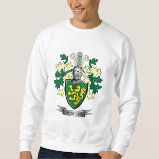 Morgan Family Crest Coat of Arms Sweatshirt