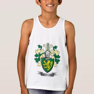 Morgan Family Crest Coat of Arms Tank Top
