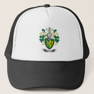 Morgan Family Crest Coat of Arms Trucker Hat