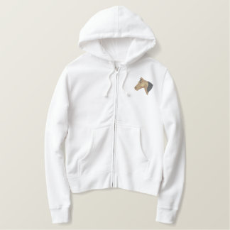 Morgan Head Embroidered Hoodie