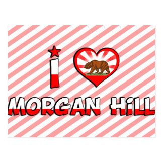 Morgan Hill, CA Postcard