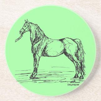 Morgan Horse Simple Sketch Coaster