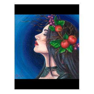 Morgan Le Fay Postcard Sorceress Postcard Camelot