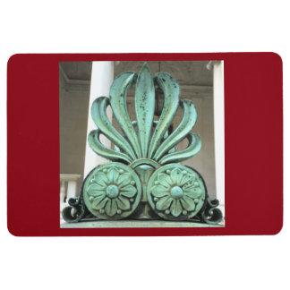 Morgan Library Fence Bronze Flame Detail Door Mat