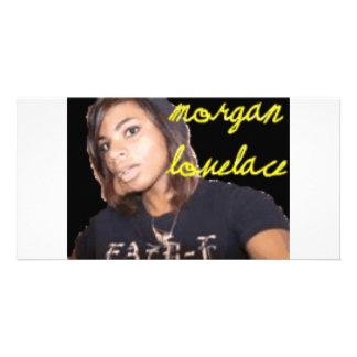 Morgan Lovelace Gear Photo Greeting Card