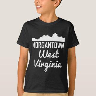 Morgantown West Virginia Skyline T-Shirt