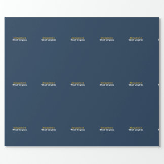 Morgantown, West Virginia Wrapping Paper