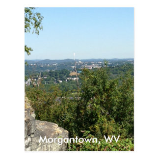 Morgantown WV Photo from Dorseys Knob Postcards