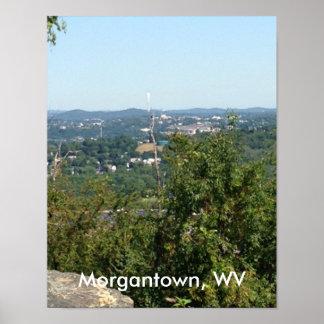 Morgantown WV Photo from Dorseys Knob Posters