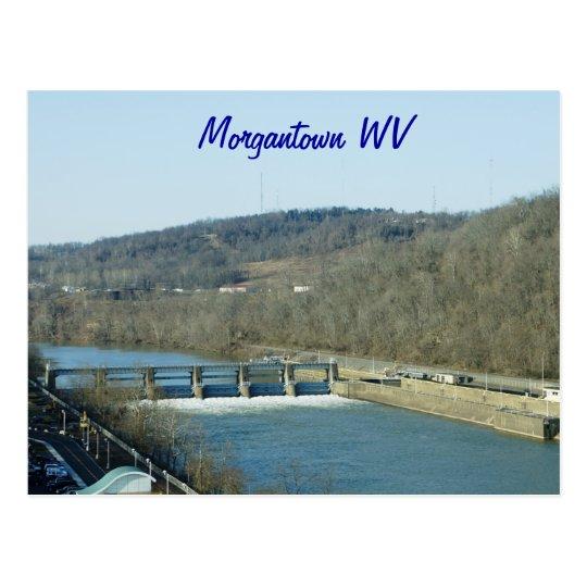Morgantown WV Postcard