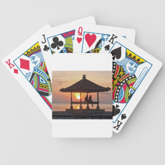 Moring in Bali Island Bicycle Playing Cards