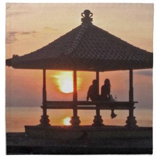 Moring in Bali Island Napkin