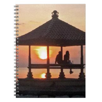Moring in Bali Island Notebooks