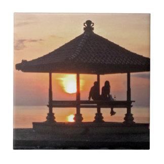 Moring in Bali Island Tile
