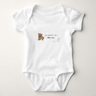 morkie baby bodysuit