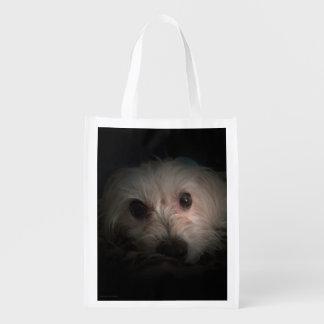 Morkie Dog Puppy Cute Rescue Bag Tote