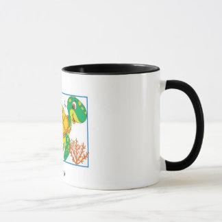 """MORLA"" 11 oz. TURTLE RINGER COFFEE MUG"