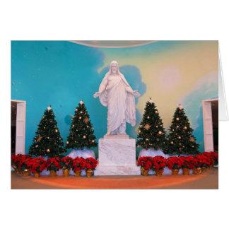 Mormon Christus Christmas Card