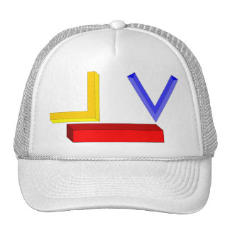 Mormon/Mason Symbols Mesh Hat