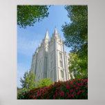 Mormon Temple Print