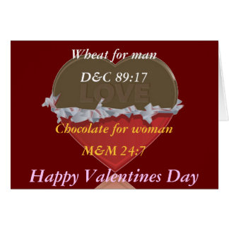 Mormon Valentines Card