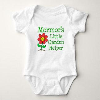 Mormor's Little Garden Helper Baby Bodysuit