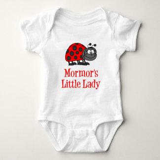 Mormor's Little Lady Baby Bodysuit