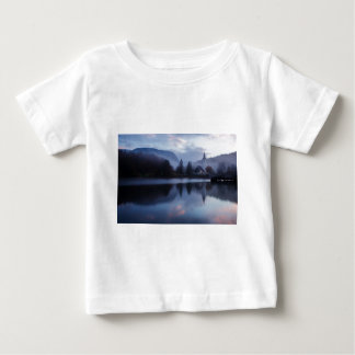 Morning at Lake Bohinj in Slovenia Baby T-Shirt