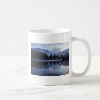 Morning at Lake Bohinj in Slovenia Coffee Mug