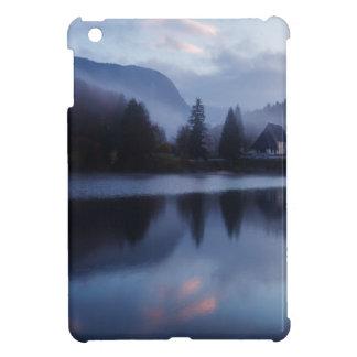Morning at Lake Bohinj in Slovenia iPad Mini Covers