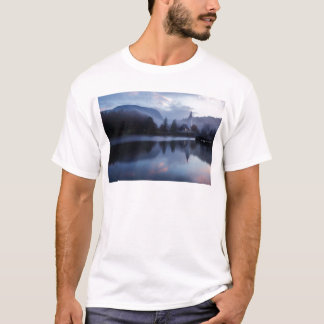 Morning at Lake Bohinj in Slovenia T-Shirt