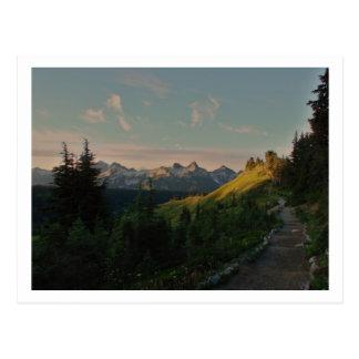 Morning at Paradise Postcard