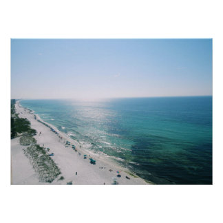 Morning Beach View Poster