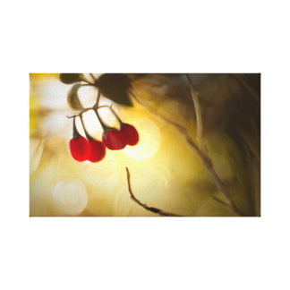 Morning Berries Canvas Print